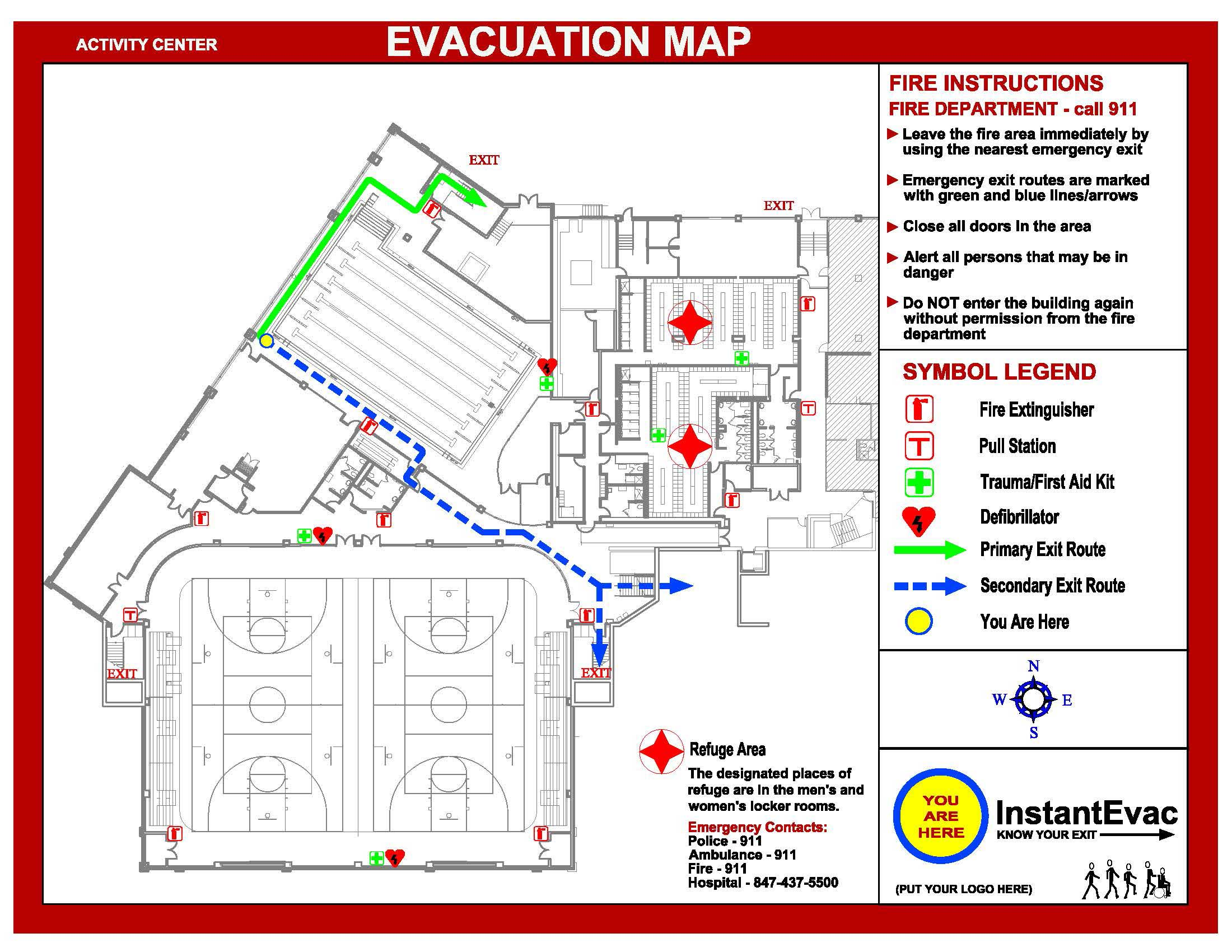 Know your Exit | InstantEVAC » Samples Sample Emergency Exit Route Map on emergency route signage buildings, emergency exits school map, building evacuation maps, format for emergency exit maps, apartment fire safety maps, motorcycle route maps, building emergency exit plan maps, emergency evacuation maps, emergency escape maps, mcdonald's emergency plan maps, fire prevention maps, making evacuation maps, ammonia chemical release evacuation maps, emergency map locaiton, ups route maps, location of fire exit maps,
